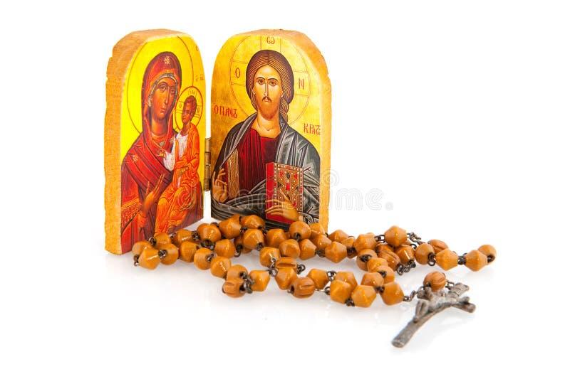 Griechische orthodoxe Religion stockfoto