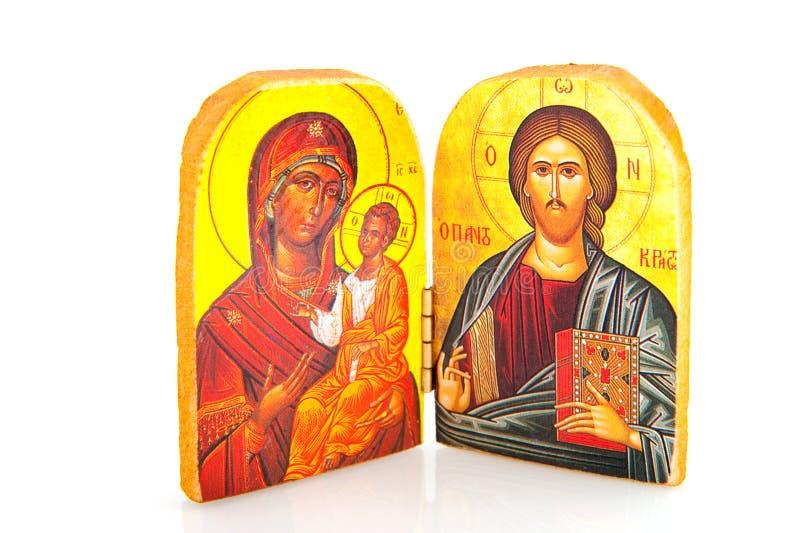Griechische orthodoxe Religion lizenzfreie stockfotos