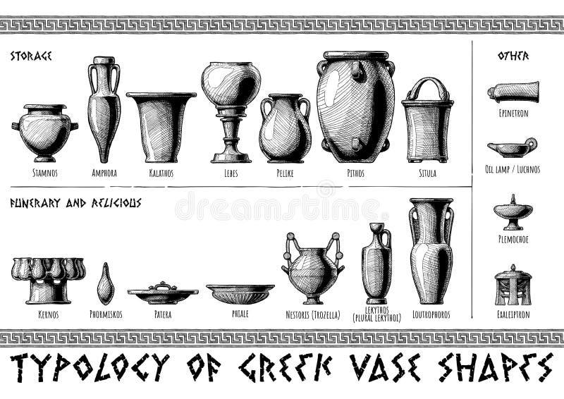Griechische Schiffformen vektor abbildung