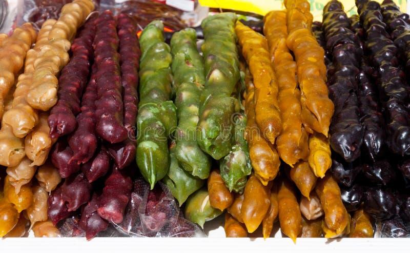 Griechische traditionelle Bonbons lizenzfreies stockbild