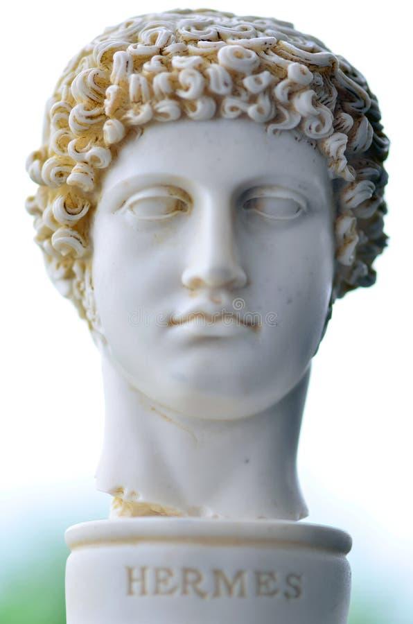 Griechischer Gott, Hermes, stockbild