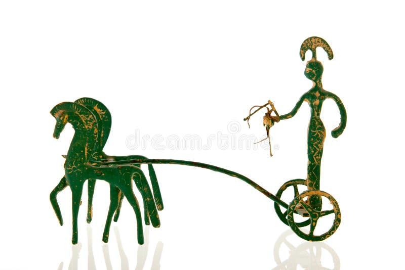 Griechischer Chariot lizenzfreie stockfotos