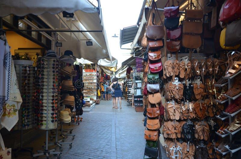 Griechischer Markt stockfotos