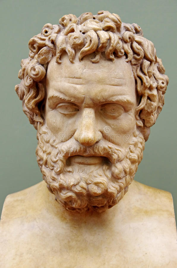 Griechischer Philosoph Hippocrates stockfotos