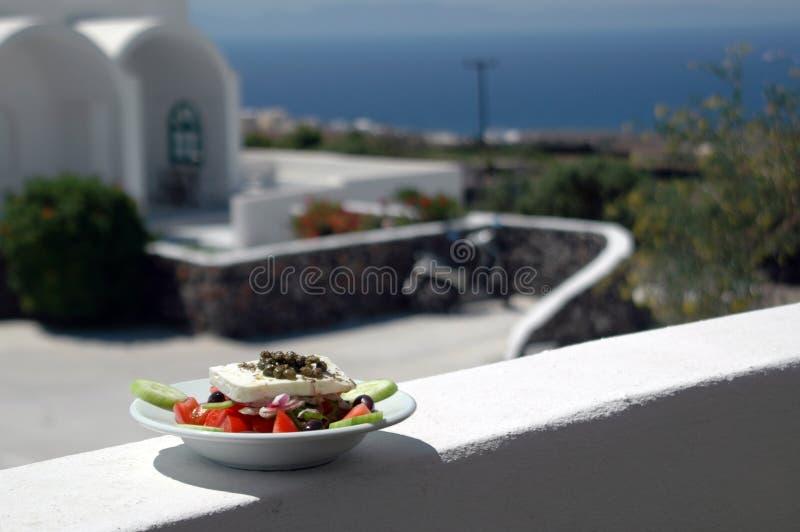 Griechischer Salat lizenzfreie stockfotografie