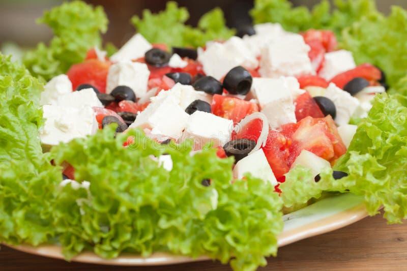 Download Griechischer Salat stockfoto. Bild von farbe, gurke, feta - 26372762