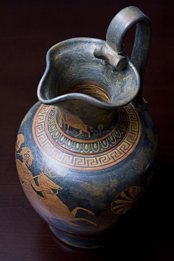 Griechischer Vase stockbilder
