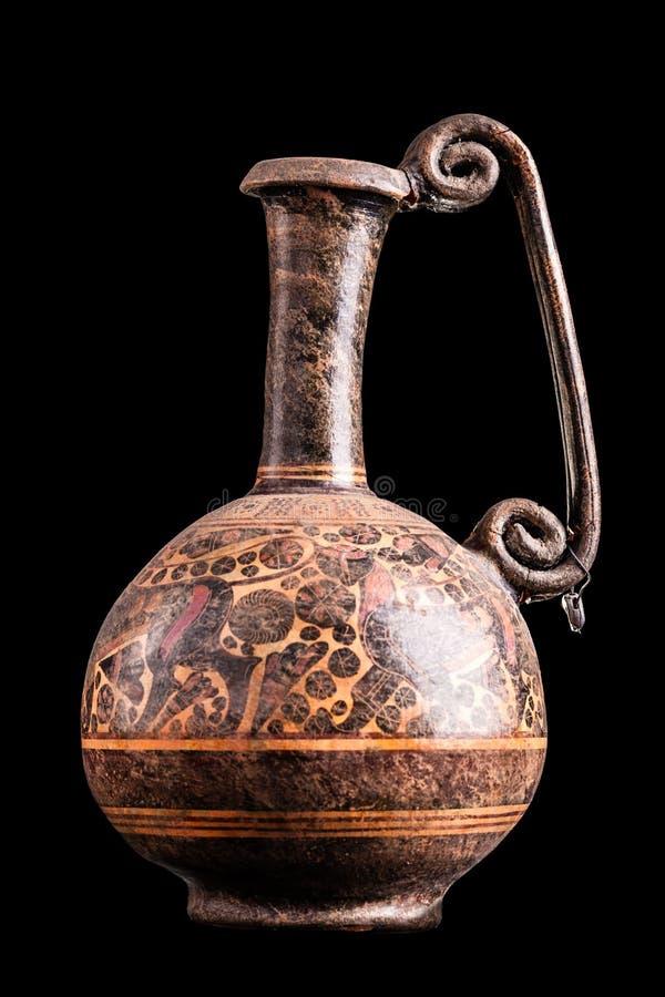 Griechischer Vase lizenzfreies stockfoto