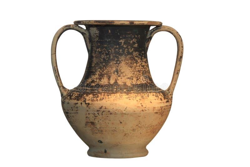 Griechischer Vase lizenzfreie stockfotografie