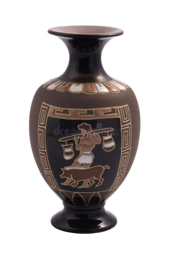 Griechischer Vase lizenzfreies stockbild