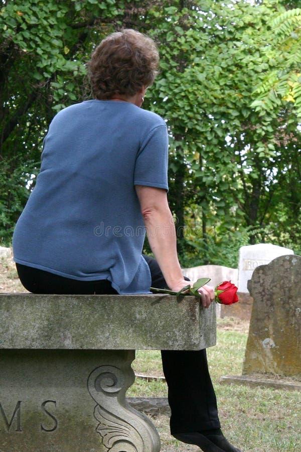 Grief royalty free stock photos