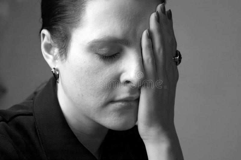 Grief Stock Photography