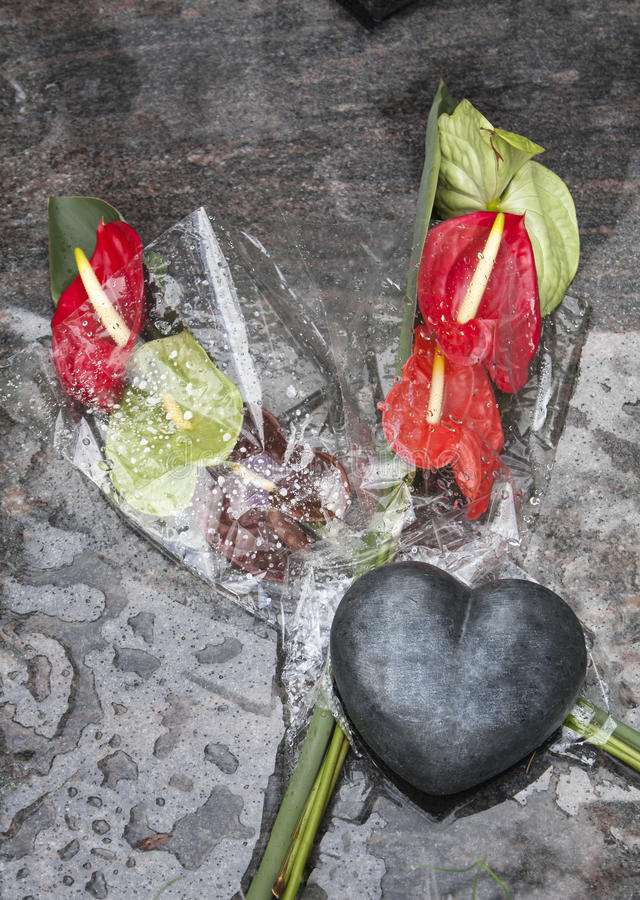 Download Grief of a lost love stock photo. Image of flowers, death - 33721888