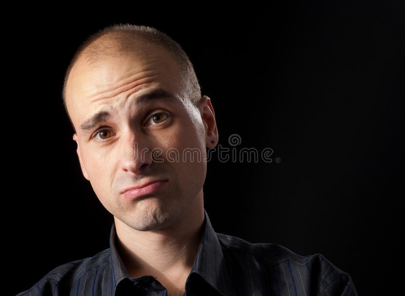 Download Grief man stock image. Image of human, meditating, loneliness - 11468909