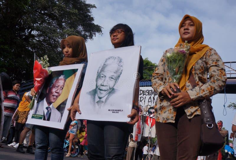 Grief for Mandela