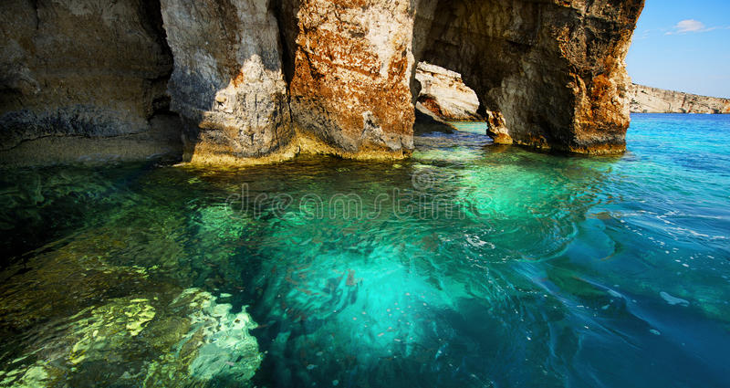 Griekenland, het Eiland Zakynthos royalty-vrije stock foto