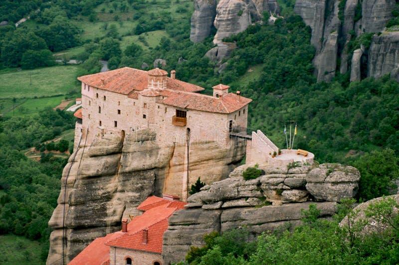 Griekenland, het klooster. stock foto