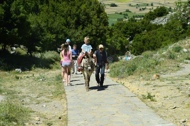 Griekenland, Kreta stock afbeelding