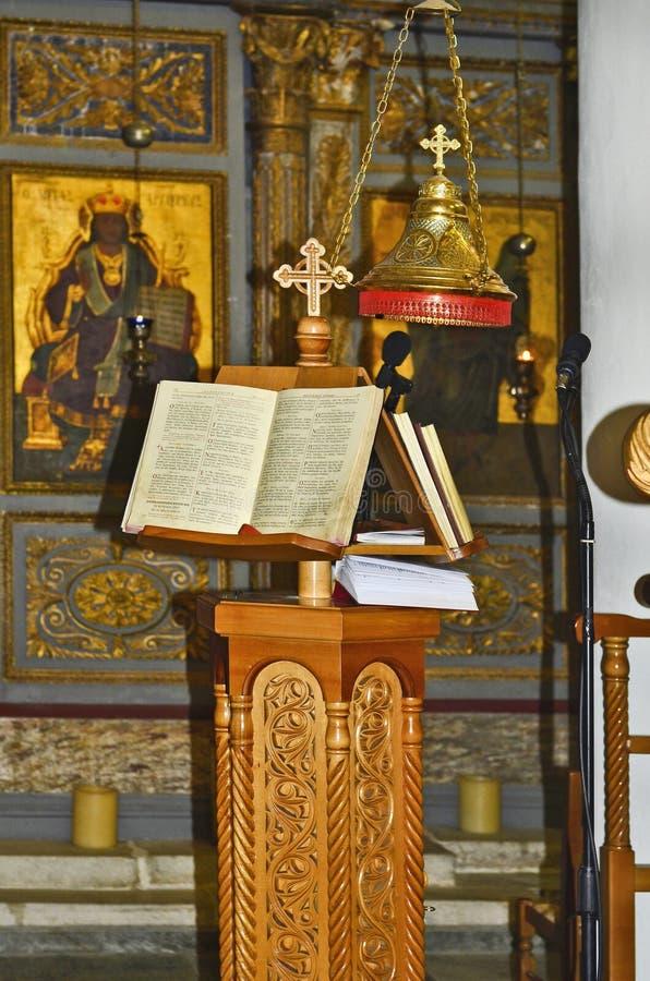 Griekenland, Pelion, Kerk stock fotografie