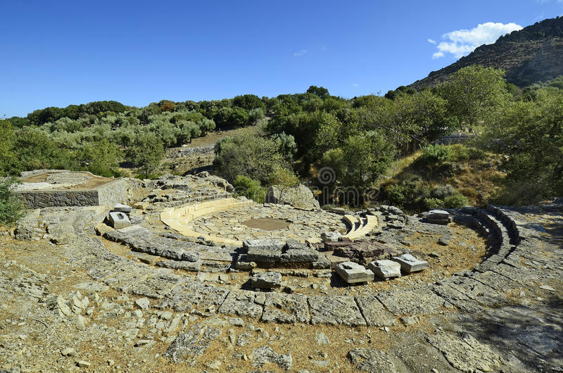 Griekenland, Samothrace royalty-vrije stock afbeelding