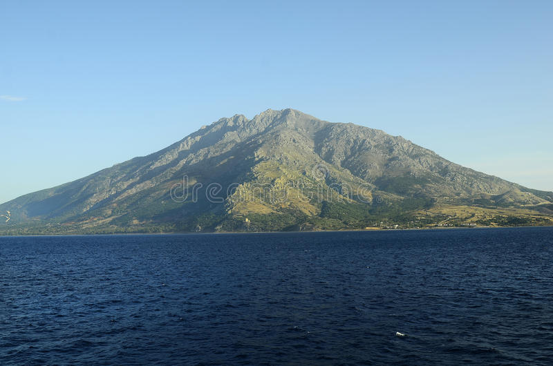 Griekenland, Samothrace-Eiland stock foto's