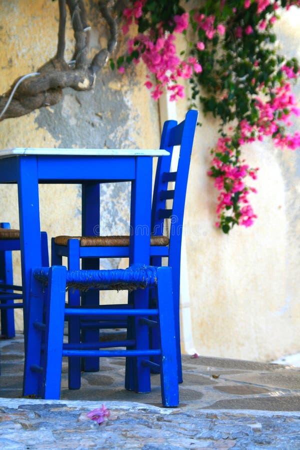 Griekenland, Syros eiland, herberg royalty-vrije stock foto