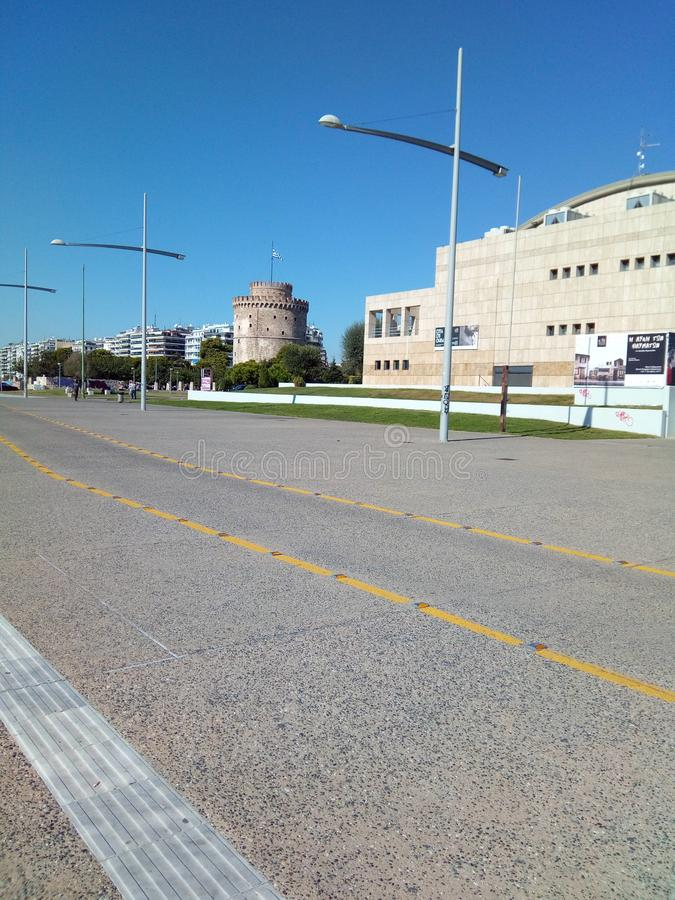 Griekenland Thessaloniki stock afbeelding