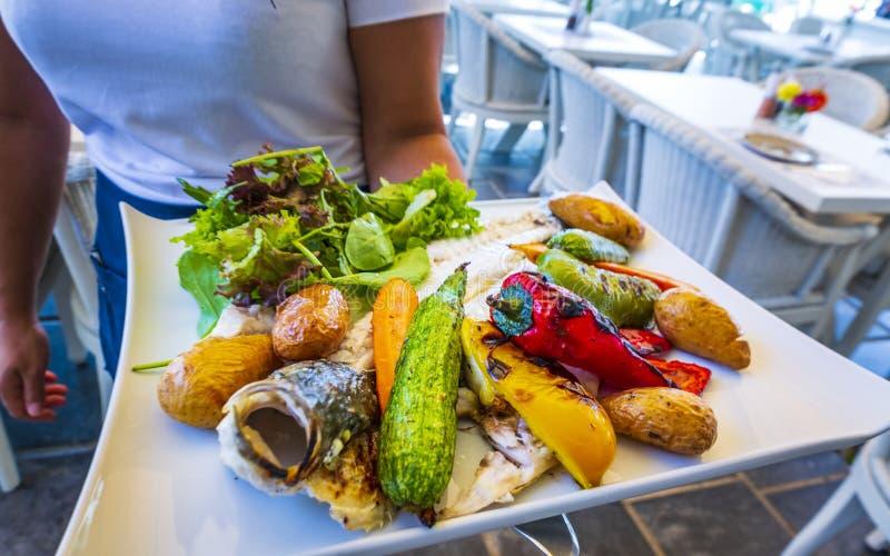 Grieks voedsel royalty-vrije stock afbeelding