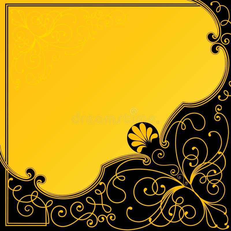 Griekse achtergrond. royalty-vrije illustratie