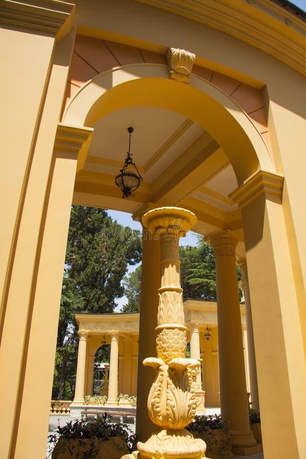 Griekse architectual elementen stock foto's