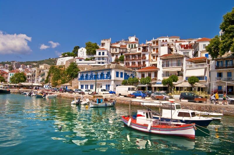 Griekse eilanden stock foto's