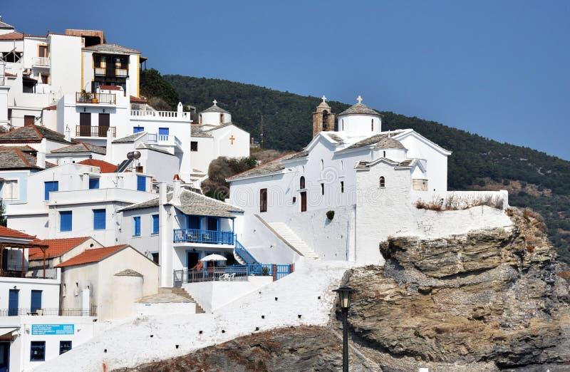 Griekse eilanden royalty-vrije stock afbeelding