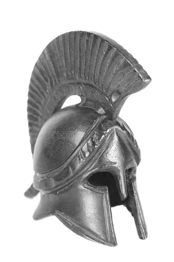 Griekse helm royalty-vrije stock foto