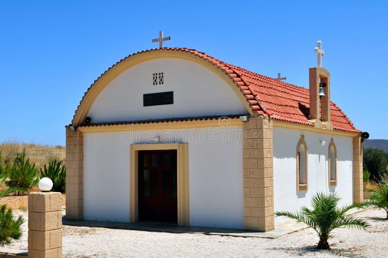 Download Griekse kapel stock afbeelding. Afbeelding bestaande uit kerk - 10778803