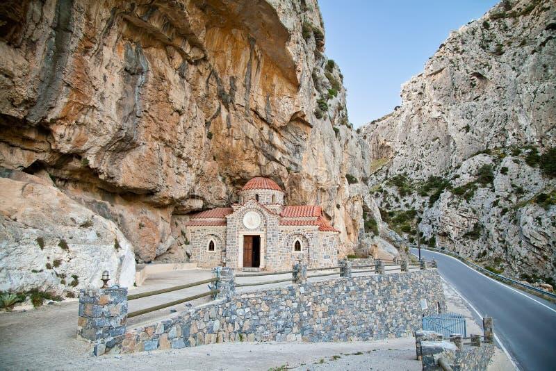 Griekse kerk van Sinterklaas Wonderworker royalty-vrije stock foto's