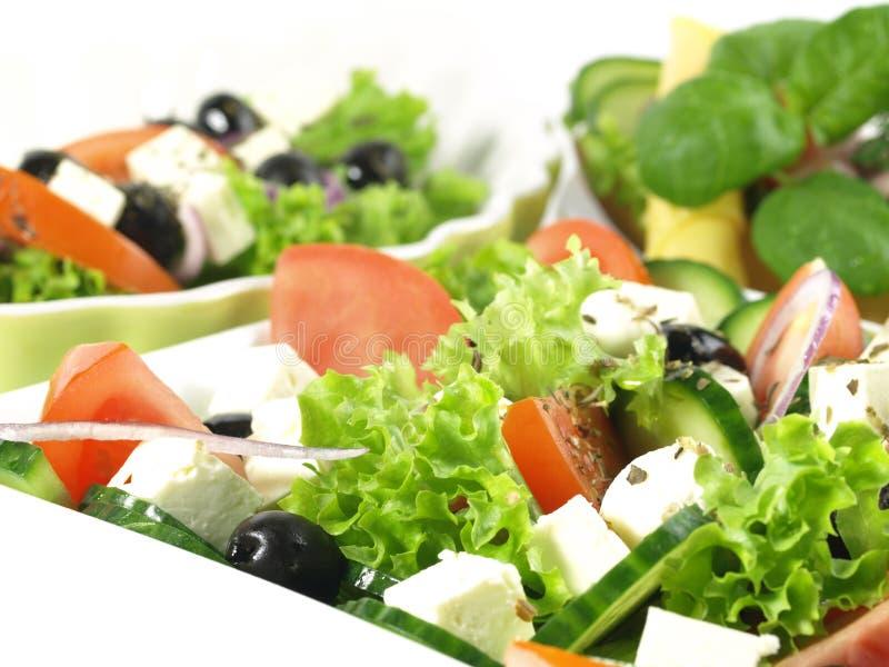 Griekse keuken royalty-vrije stock afbeelding