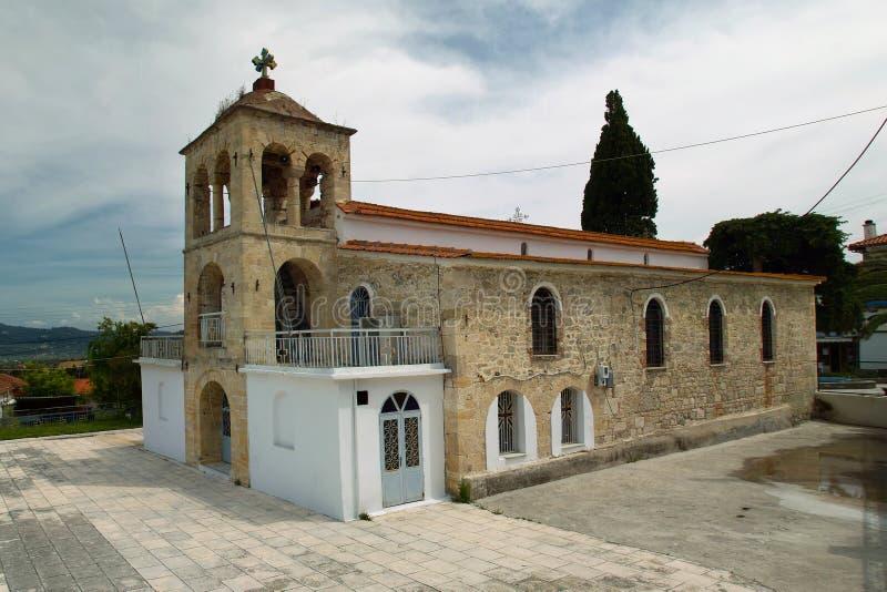 Griekse Orthodoxe Kerk stock afbeeldingen