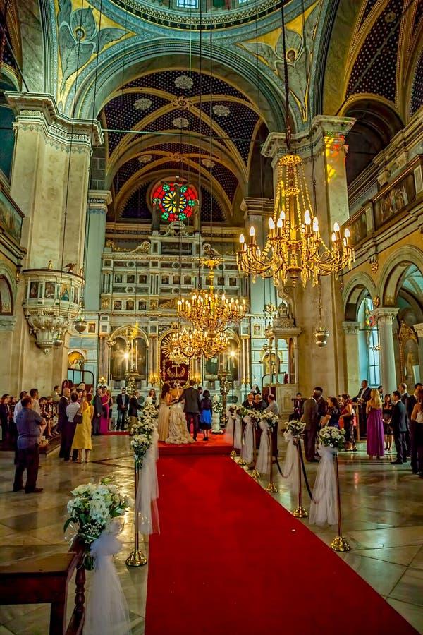Griekse Orthodoxe Kerk, Istanboel royalty-vrije stock foto