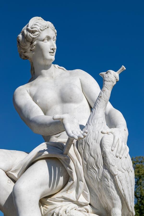 Griekse standbeelden van SansSouci stock foto