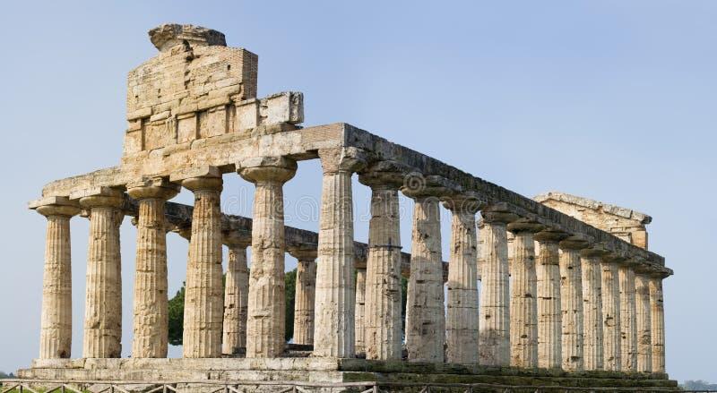 Griekse tempel XXL royalty-vrije stock afbeeldingen