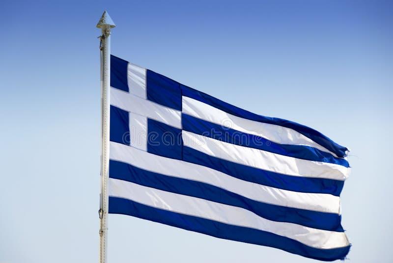 griekse vlag stock afbeelding afbeelding bestaande uit