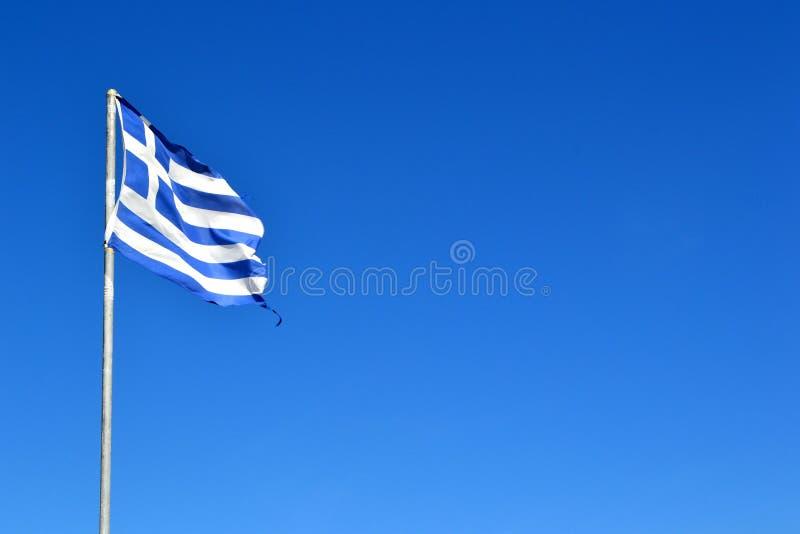 Griekse Vlag royalty-vrije stock fotografie