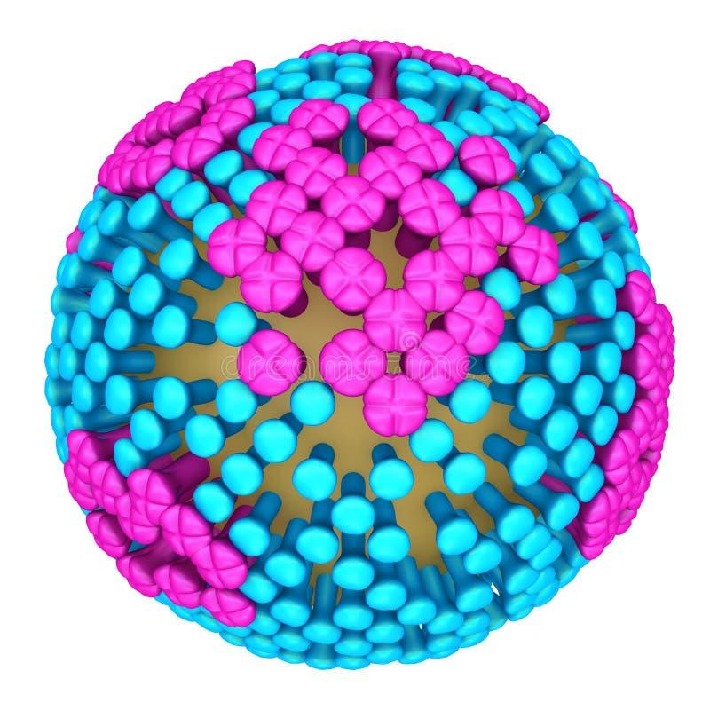 griep vector illustratie