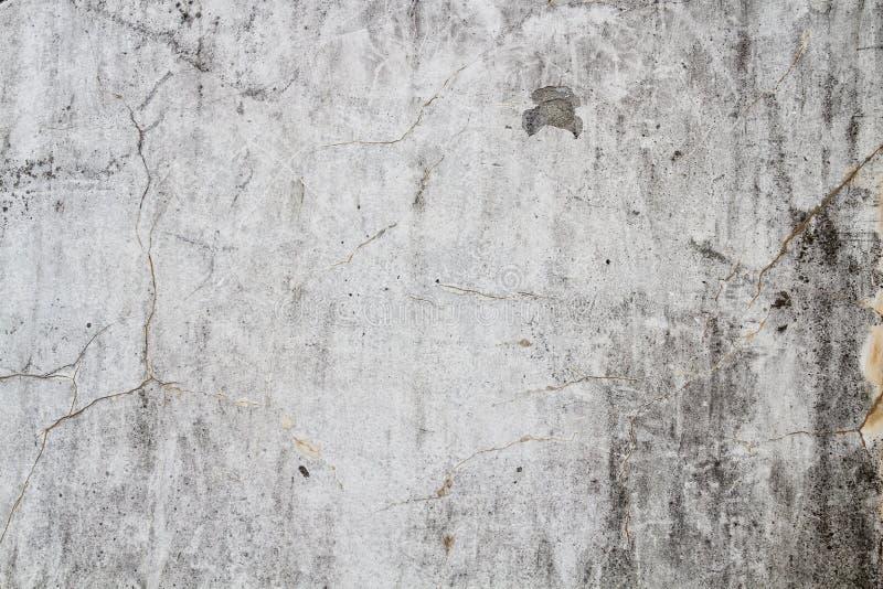 Grieta del stucoo de la pared del fondo del Grunge de la textura imagen de archivo libre de regalías