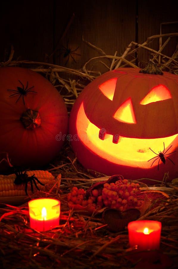 Griezelig Halloween royalty-vrije stock afbeelding