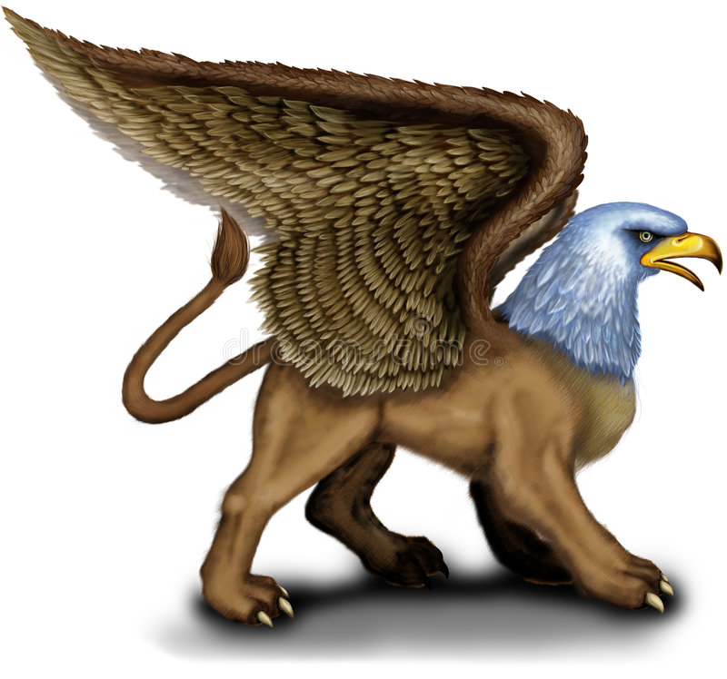 Download Griffin Stock Photo - Image: 5531420
