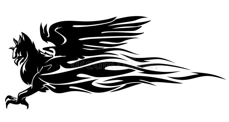 Griffin Flame stock illustratie
