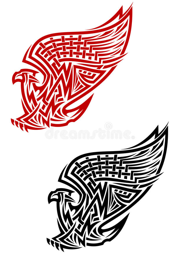 Download Griffin Symbol In Celtic Style Stock Vector - Image: 26419287