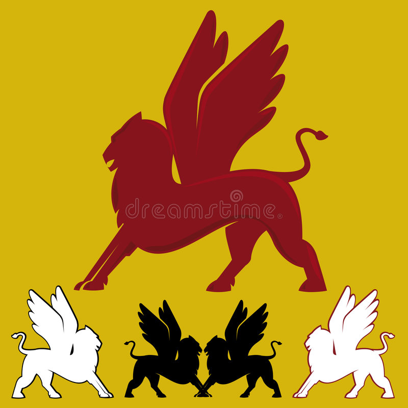 Griffin (vector) stock photo