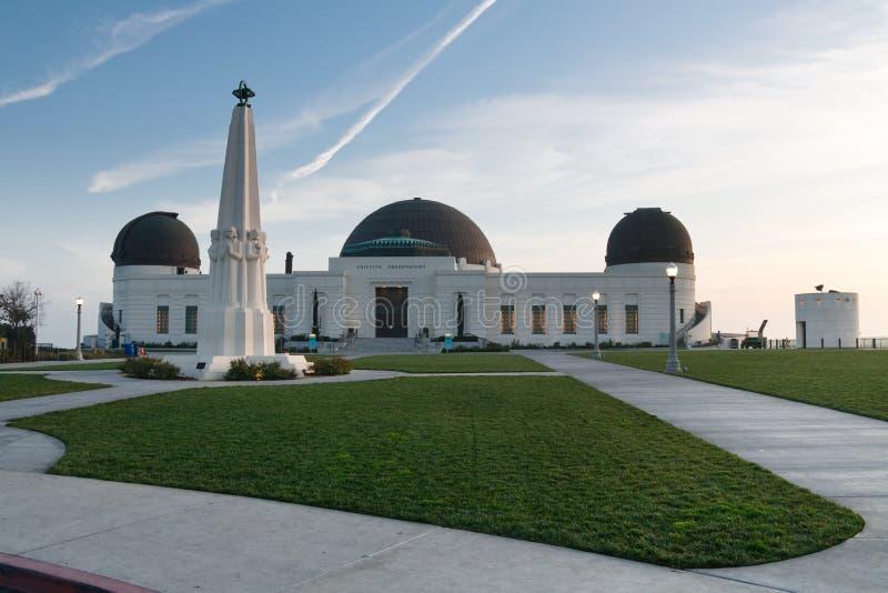 Griffith-Beobachtungsgremium, Los Angeles, Kalifornien stockfotos